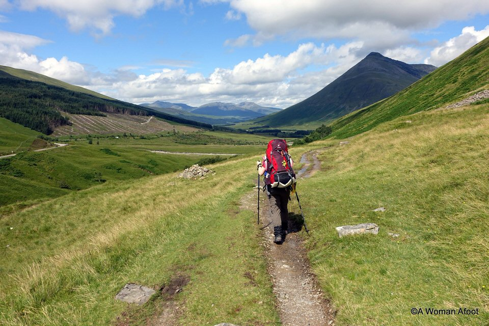 Another beautiful backpacking trip for beginners is the West Highland Way.