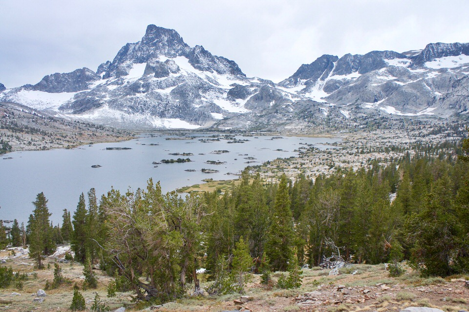 This section of the JMT is one of the most beautiful sections, and a great backpacking trip.