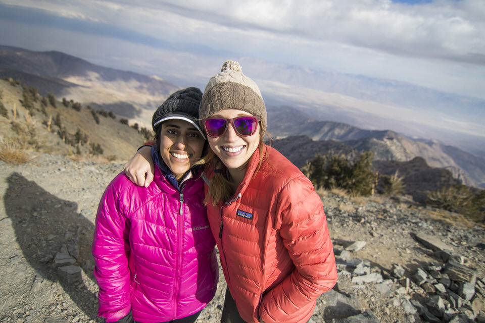 Down jackets are one of my top recommended pieces of gear too splurge on for warmth in the mountains