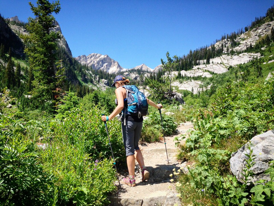 Always be sure to pack the right gear for hiking anytime you hit the trails.