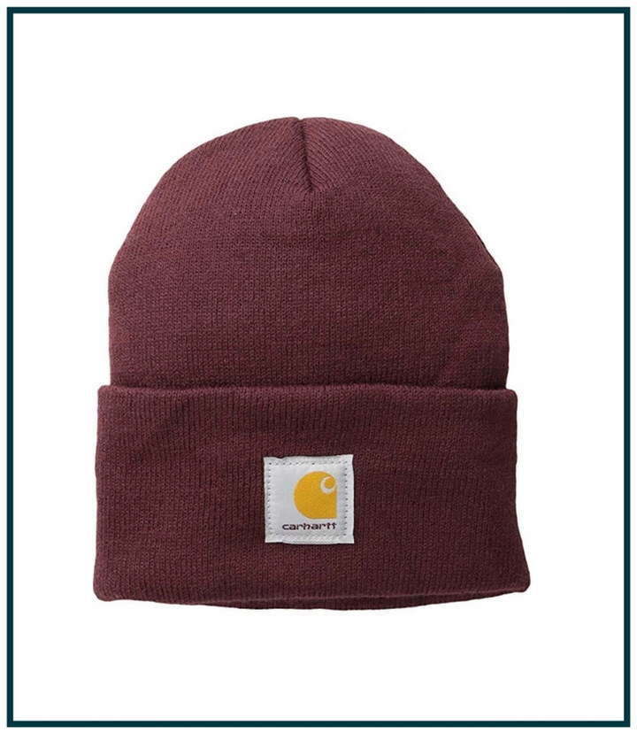 If it's cold on your hike, be sure to pack a beanie to keep your noggin warm.