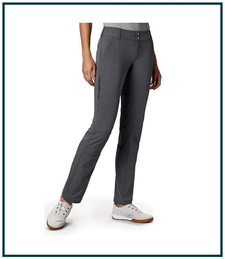 Hiking 101: wear lightweight, breathable, quick drying pants and clothing!