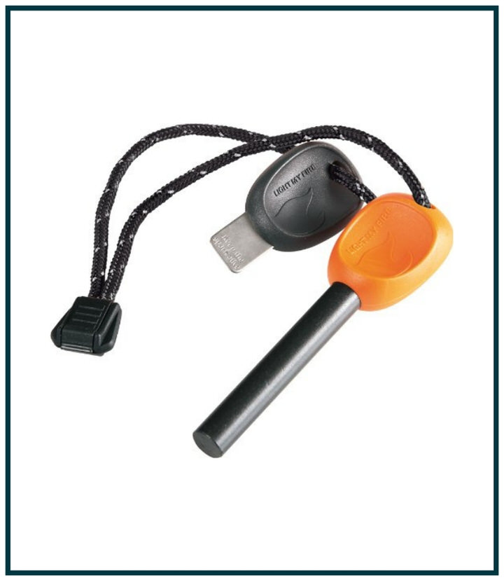 I consider my small water proof fire igniter part of my essential safety hiking gear.