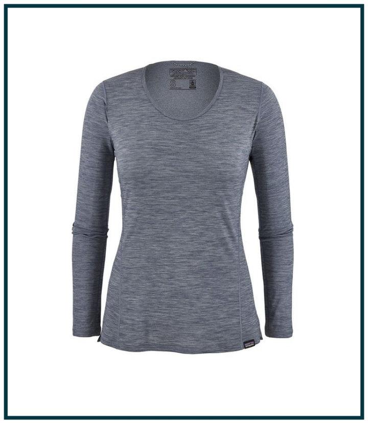 Wear a lightweight breathable shirt when hiking.