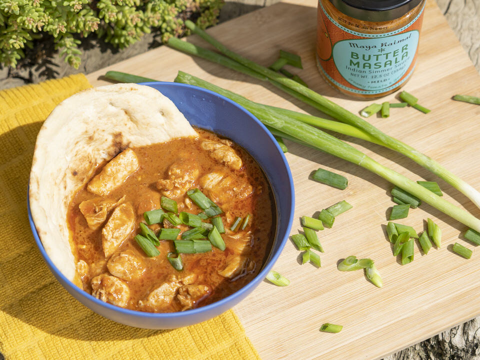 This delicious Indian dish inspired camp meal is bound to be a crowd favorite!