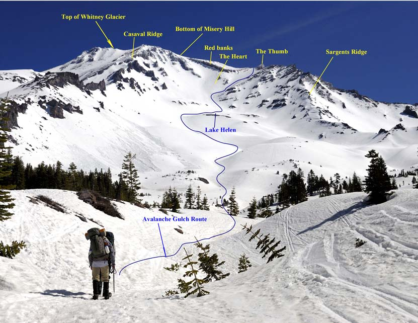 Photo from: https://www.timberlinetrails.com/ShastaApproach.html