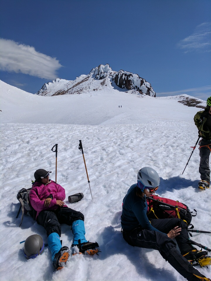 View of the Mount Shasta summit, seemed so far away still...