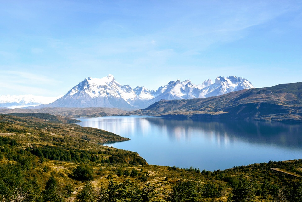 The beautiful Torres Del Paine National Park