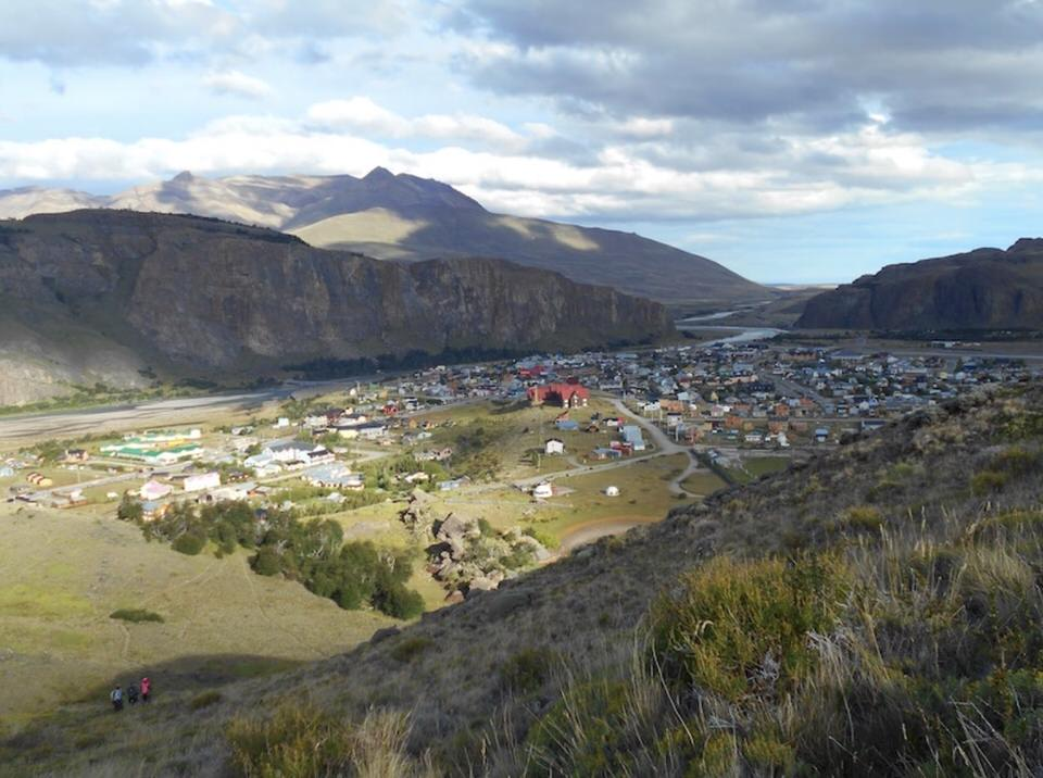 El Chalten Seen From The Outside of Town