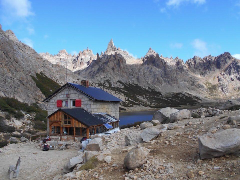 El Refugio Frey in Patagonia