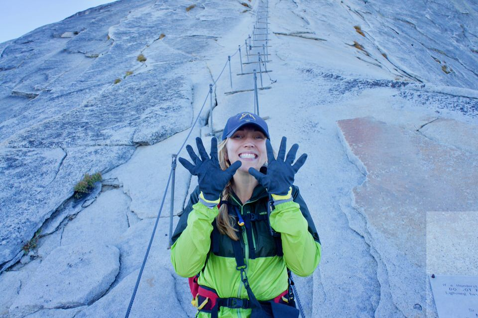 DO NOT attempt the Half Dome cables without propper gloves.