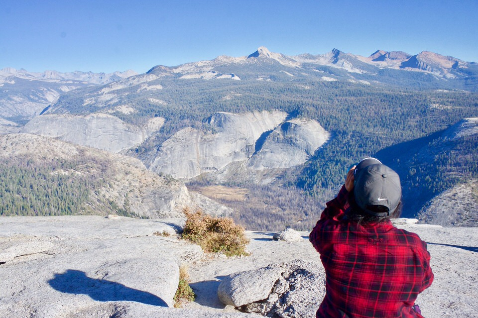 Views of Yosemite National Park