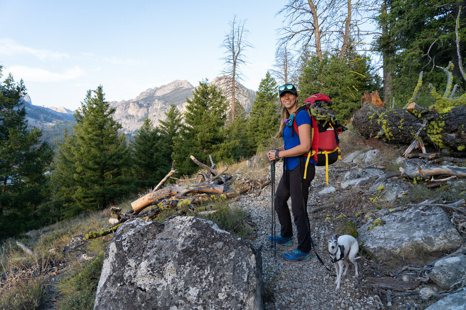 Backpacking the Alice Lake Trail in the Sawtooth Mountains