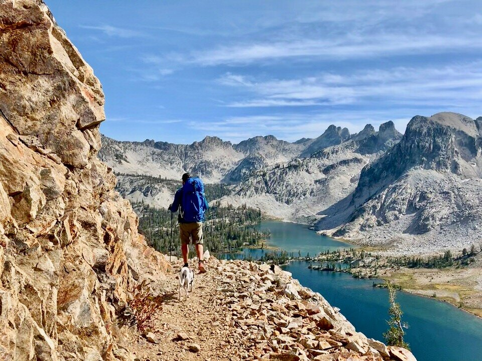 Backpacking in the Sawtooth Mountains