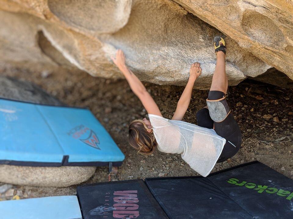 Climbskin will help heal your skin after a long day of climbing.