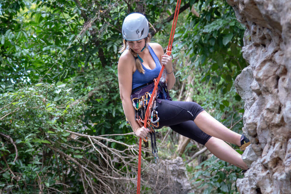 A new rope or good helmet always make for great climbing gifts!
