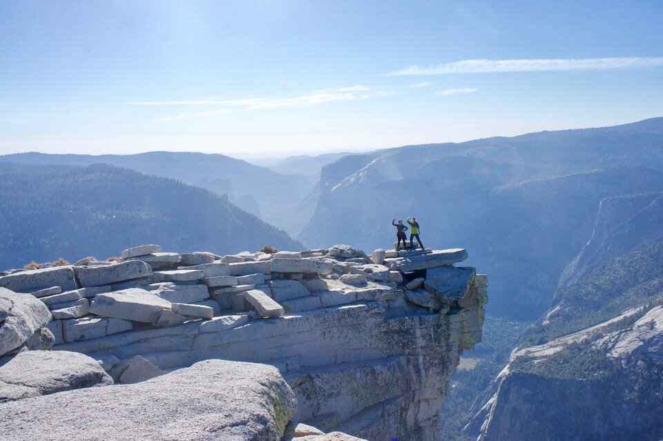 You can't climb to the summit of Half dome without a Half Dome permits.
