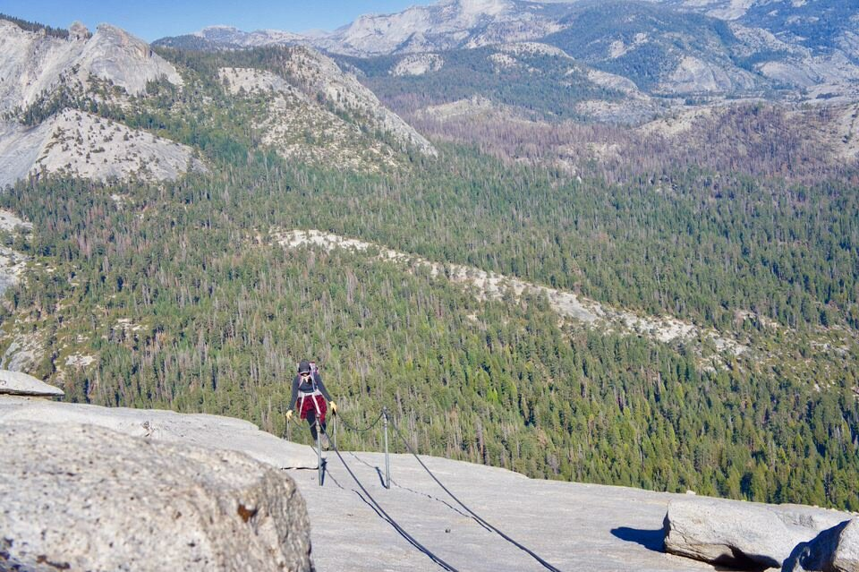 A maximum of 300 Half Dome permits will be issued per day.