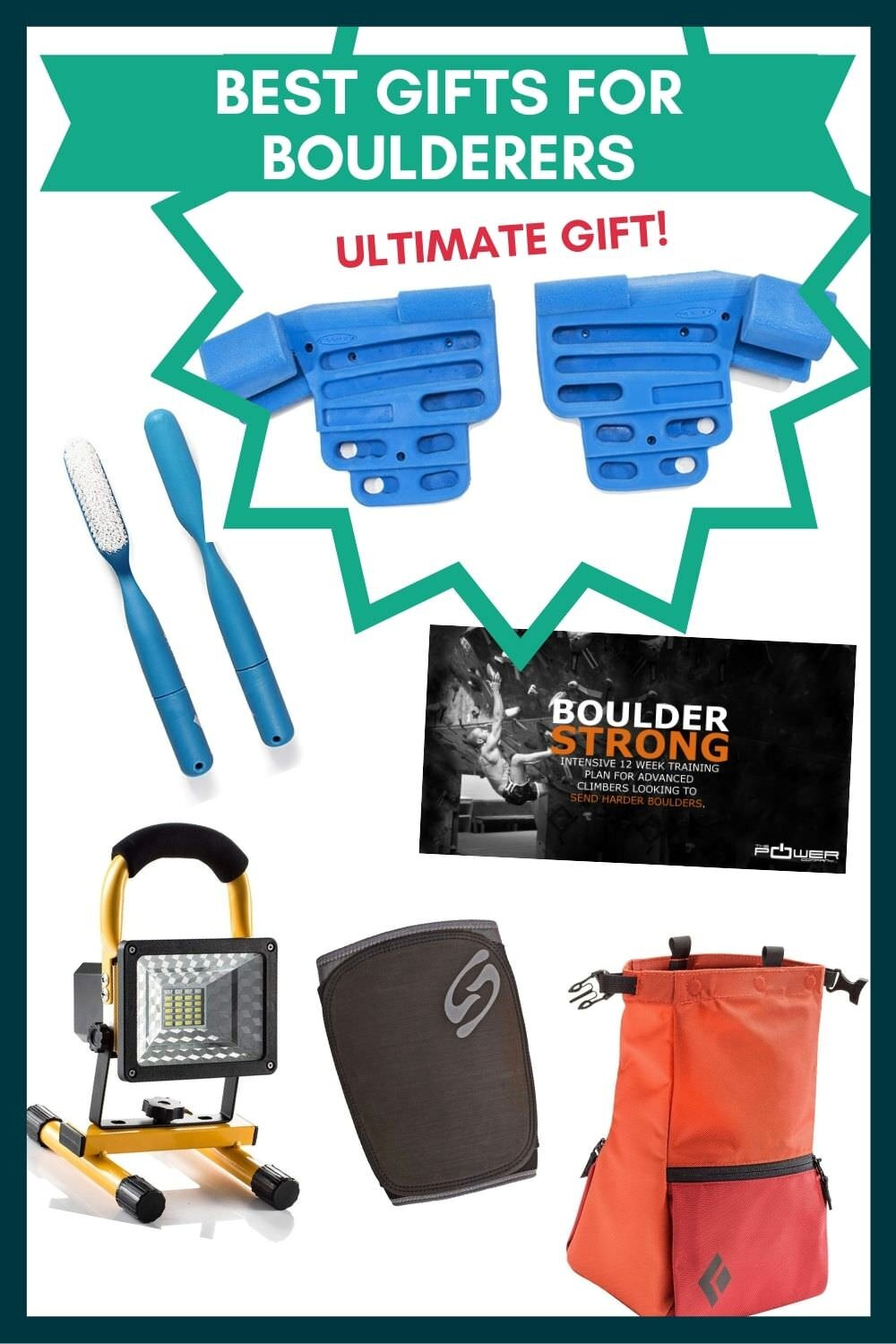 These ideas would make great gifts for boulderers!