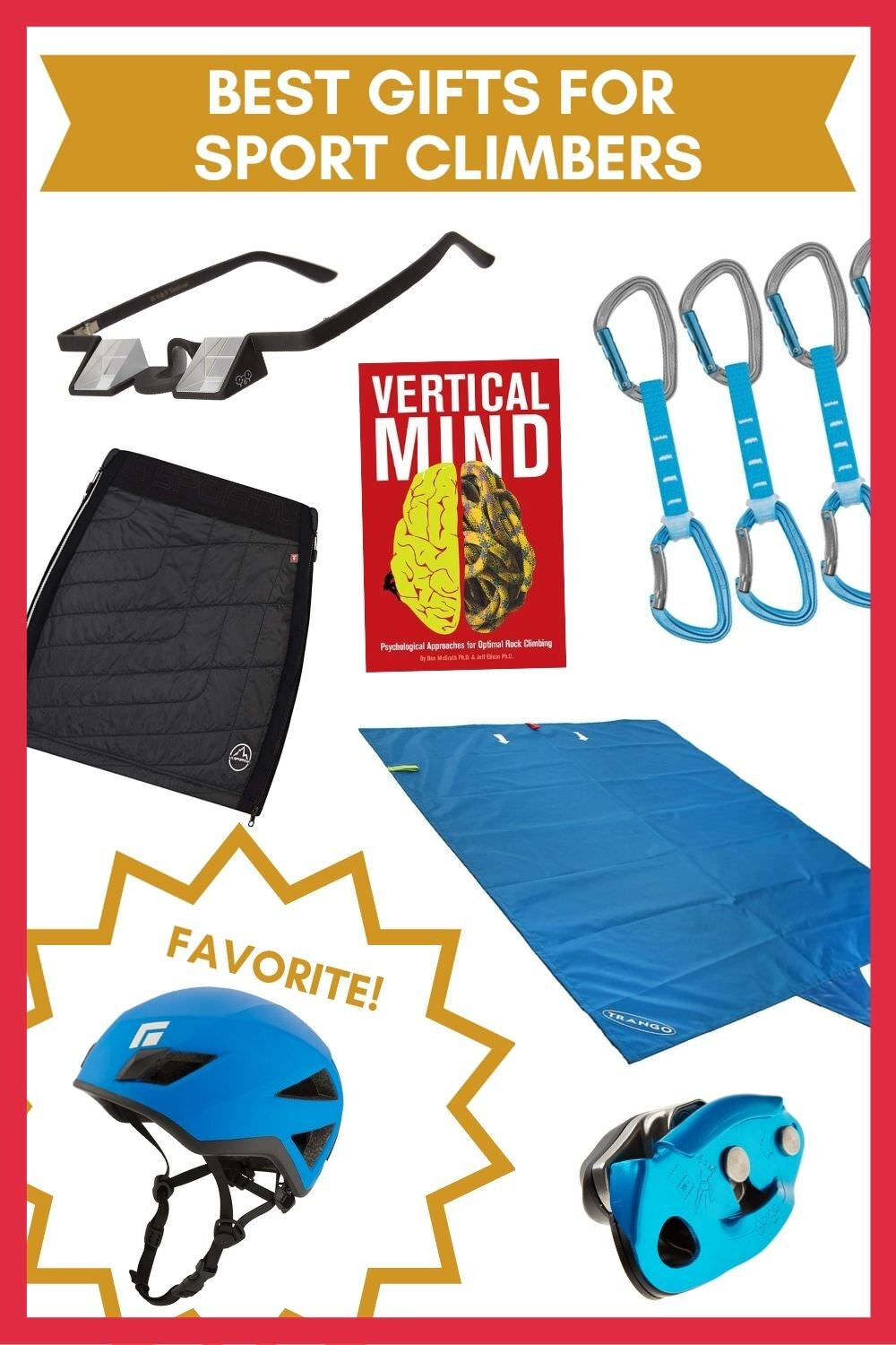 Awesome gift ideas for sport climbers!