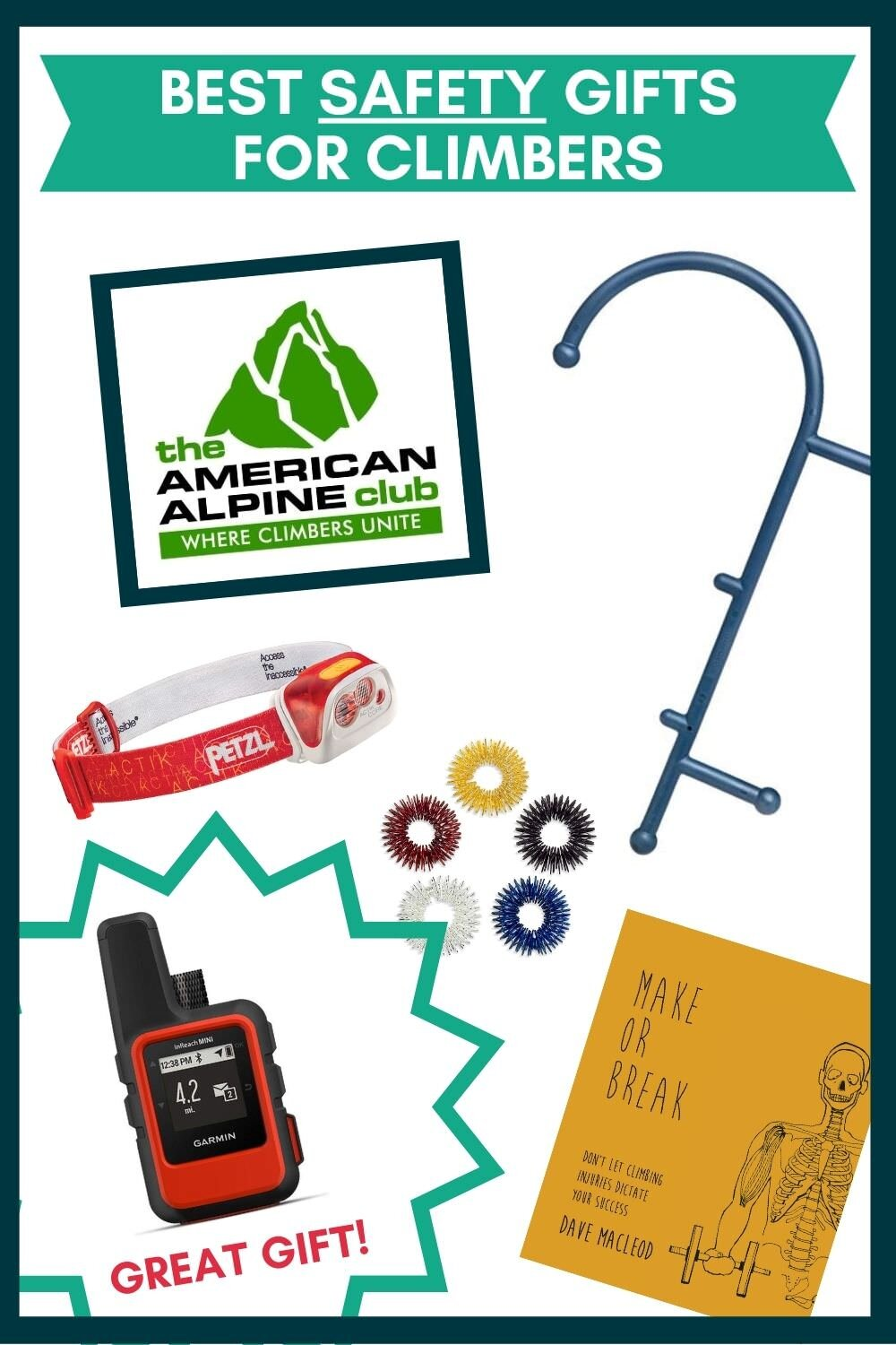 Rock Climbing gifts to keep your friends and family safe and injury free!
