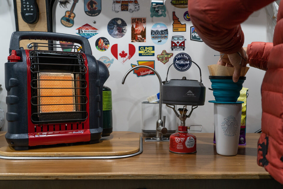 Camper van gift ideas for your kitchen.