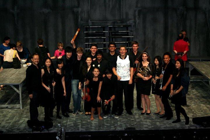 """""""Oliver"""" Production, The Band, UWCSEA, Singapore, 2011"""