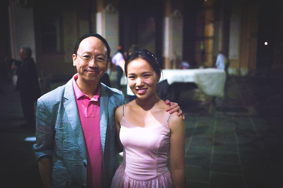 with my former teacher, Mr. Benjamin Loh (www.benjaminloh.sg)