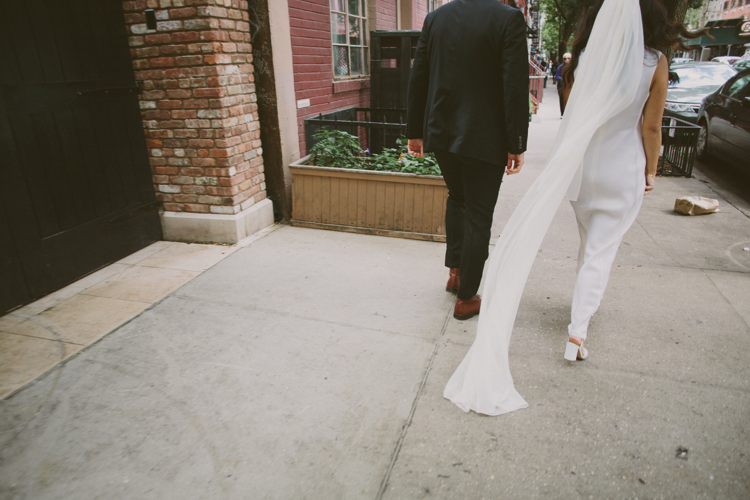 Tall & Small Events NYC, K+R, Modern, Jewish-Chinese Interfaith Urban New York City Real Wedding at Marble Cemetery East Village & Golden Unicorn Restaurant Chinatown, NYC. Photo: CityLove Photography