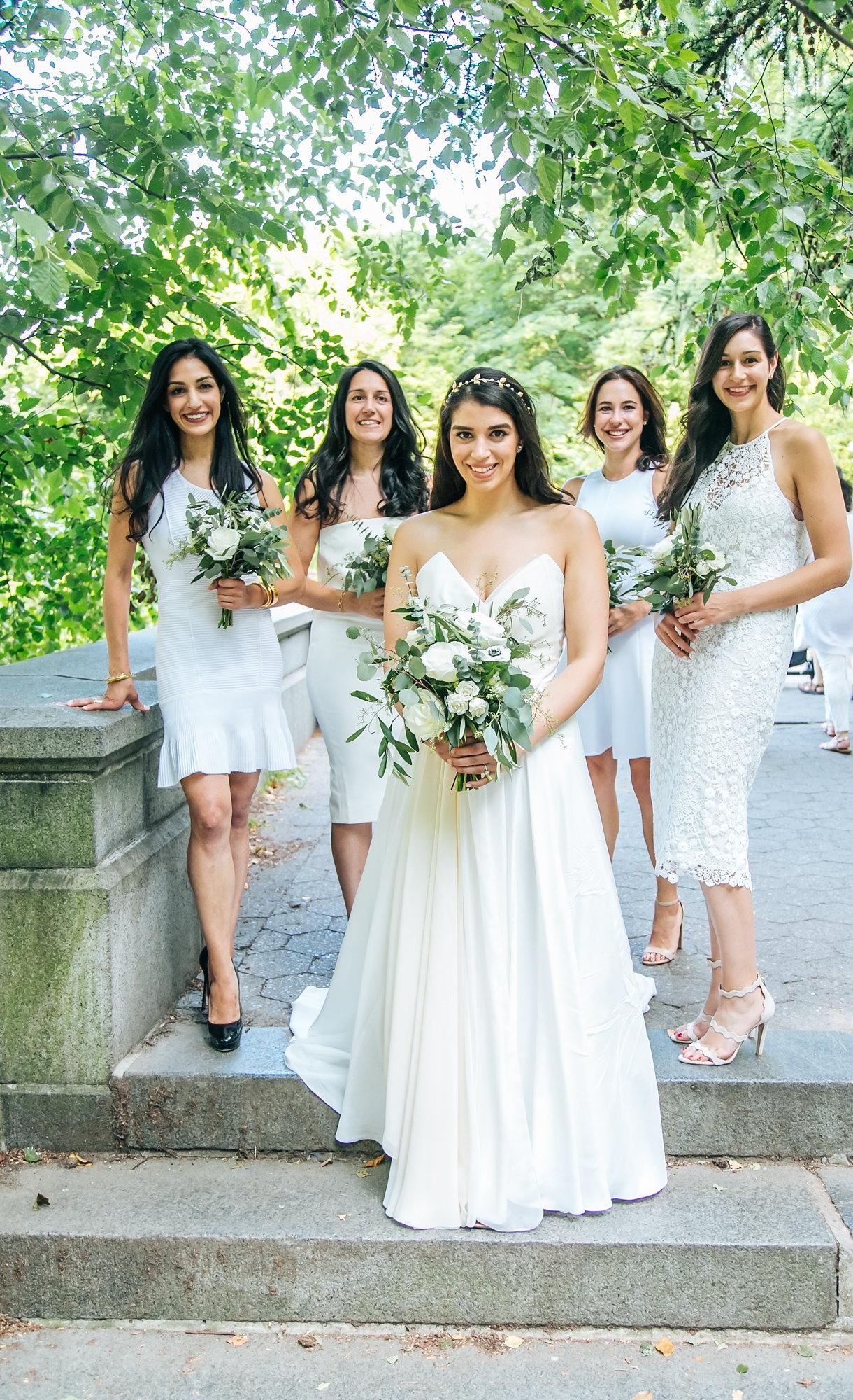 Tall & Small Events NYC, G+N, Modern, Intimate Summer Brooklyn Garden Wedding at the Prospect Park Boat House, Brooklyn New York City. Photo: Sasha B Photo.