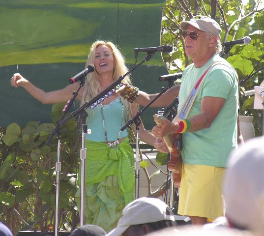 Jimmy Buffett Concert in Anguilla