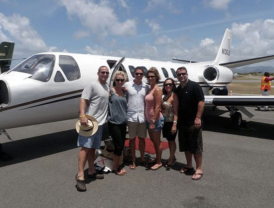 How to travel to Anguilla? These Bird of Paradise guests utilized a new air service from San Juan.