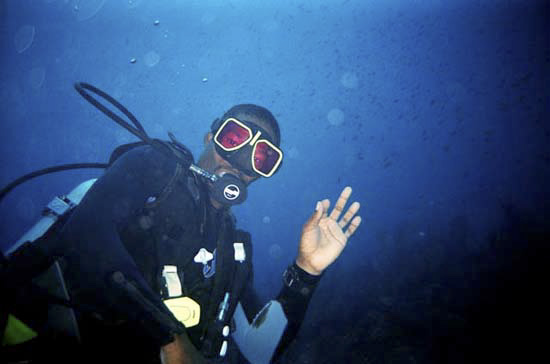 Doug Carty, Special D Scuba Diving.