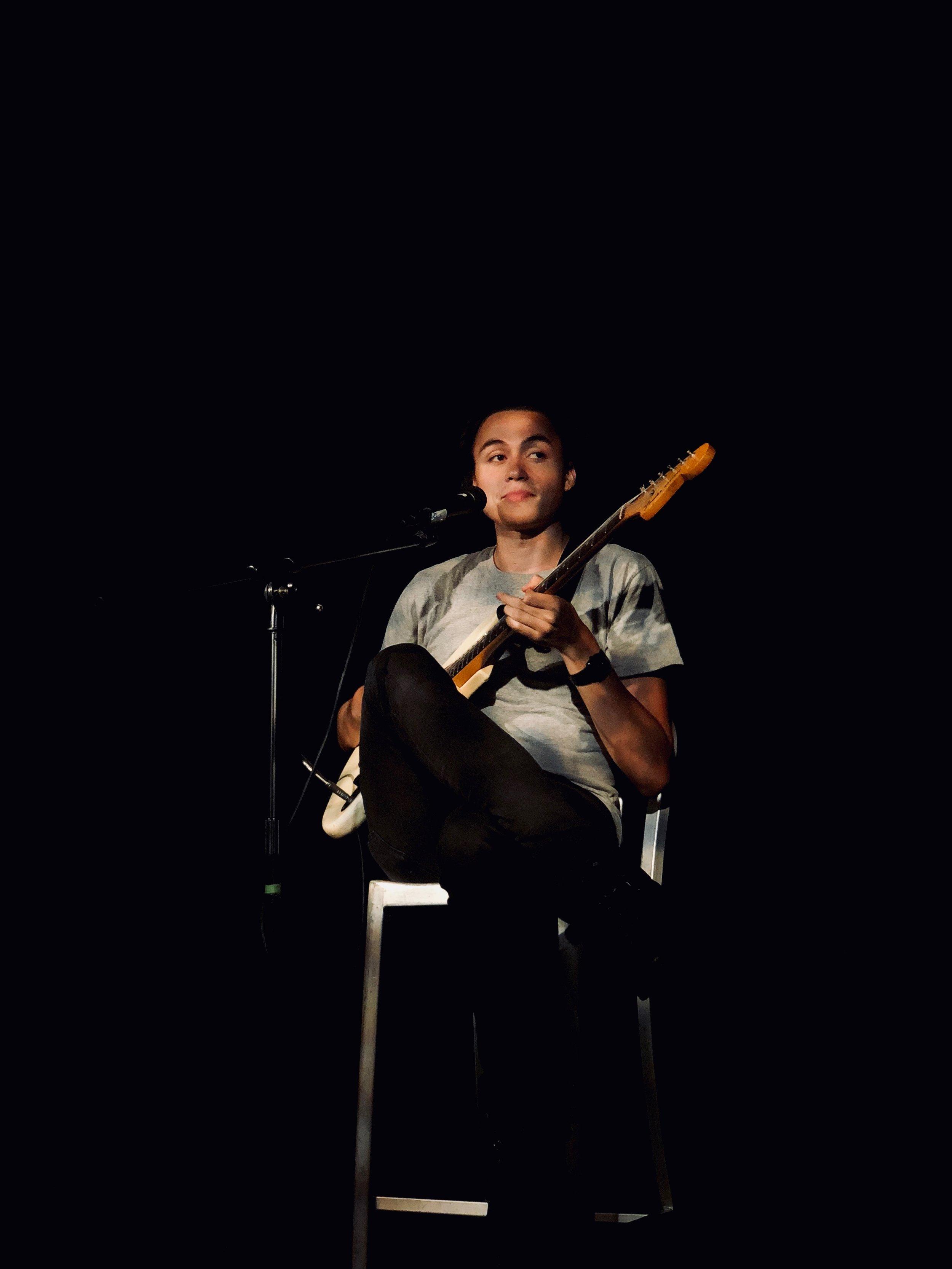 Eddy Marshall Guitar Portrait