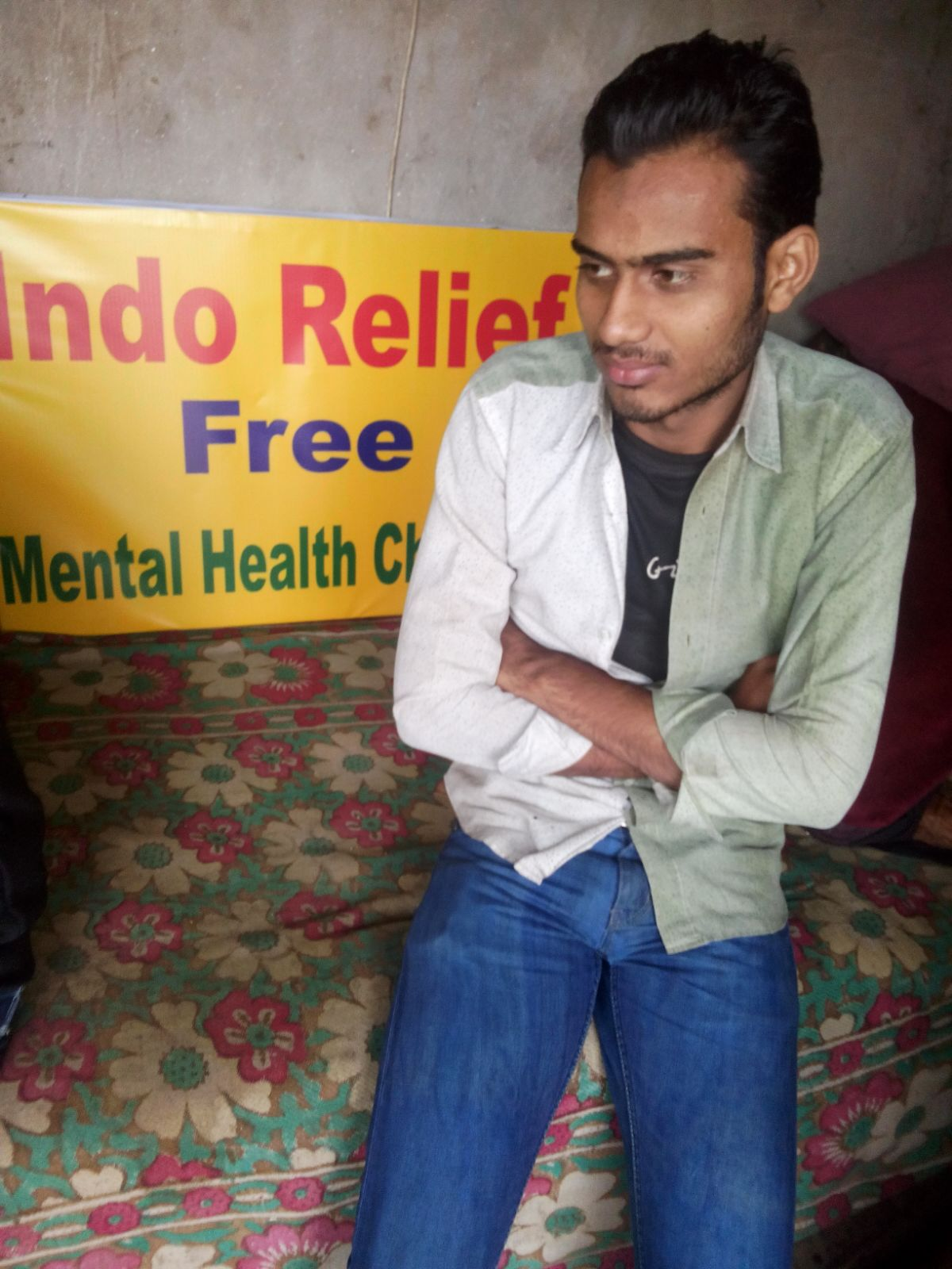This Murad. He had never heard of mental illness. He wanted to learn more about it.