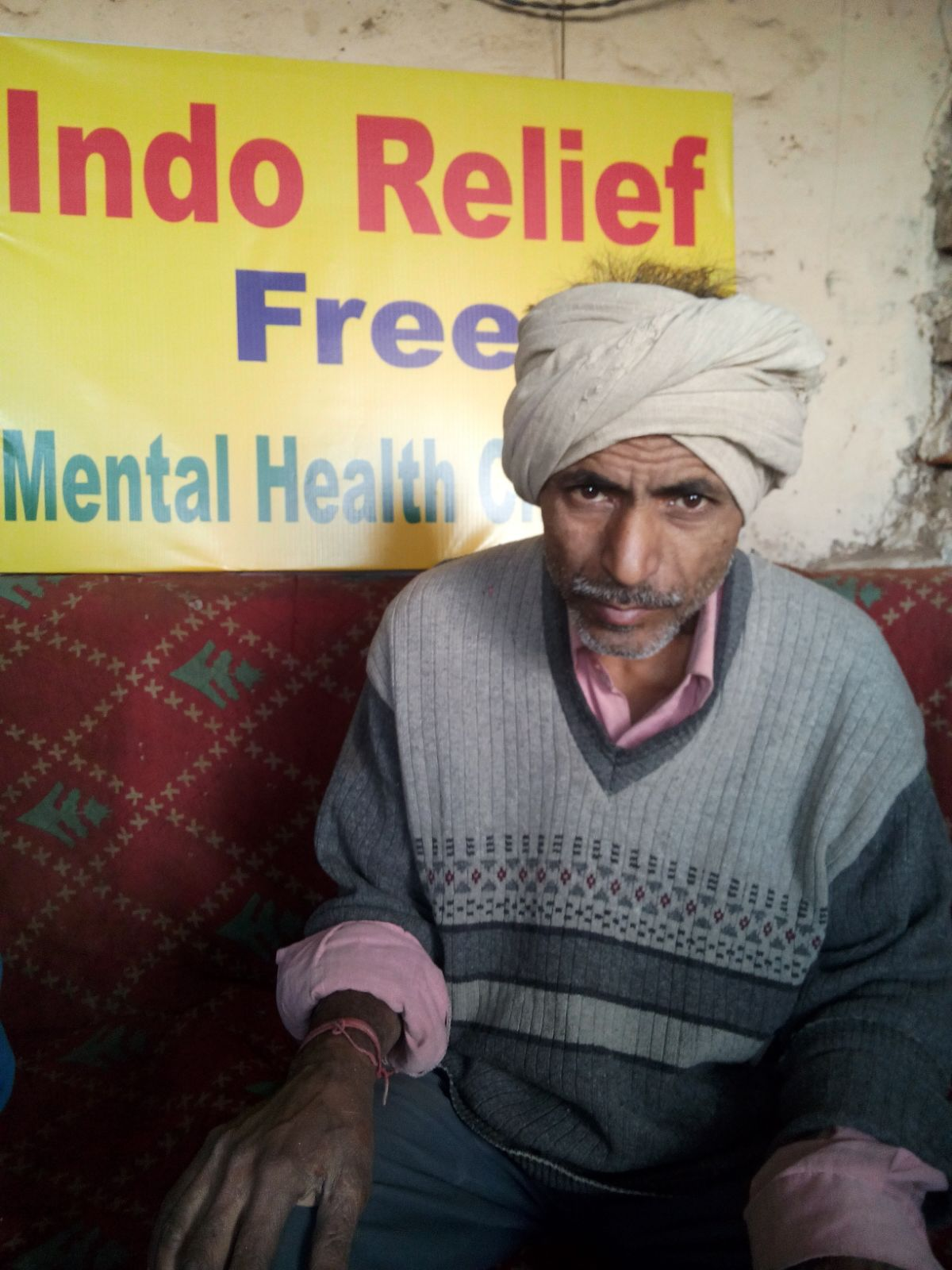 Phani is 60 years old. He is worried about his son, who drinks very heavily. Phani tells us that he does not see his son for days at a time because his son is always drinking. We encouraged Phani to bring his son to us, so that we could speak with him directly.