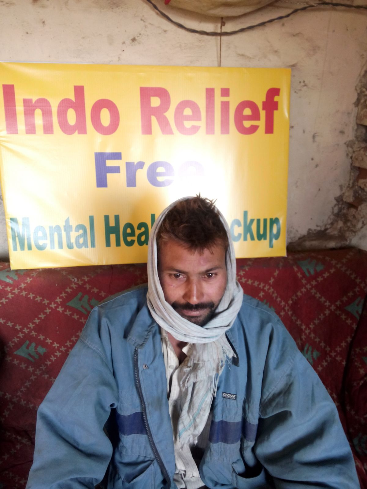 This is Brajesh. He suffers from insomnia and wants to speak with a psychologist to get help.