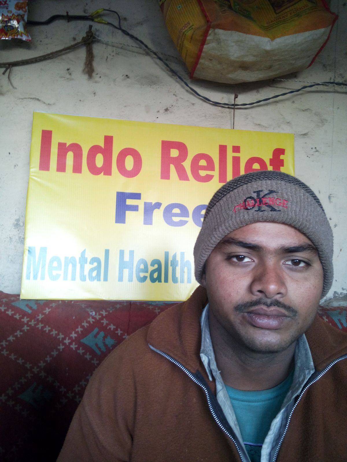 Aarav is 29 years old. He tells us that he gets very stressed about work and providing for his family. He wants to learn more about managing his stress.