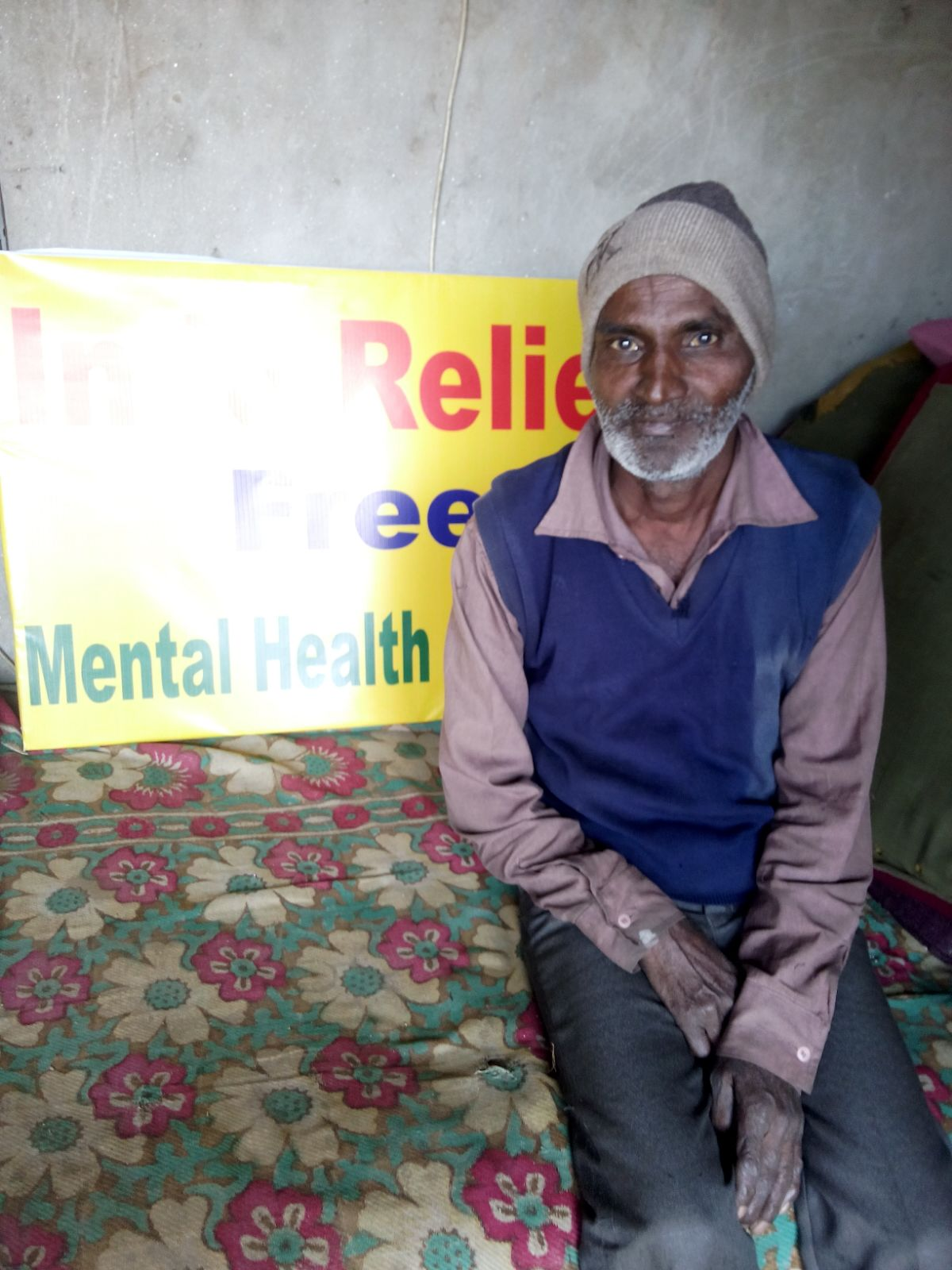 This is Ritvik. He is 62 years old. He wanted more learn more about mental health.
