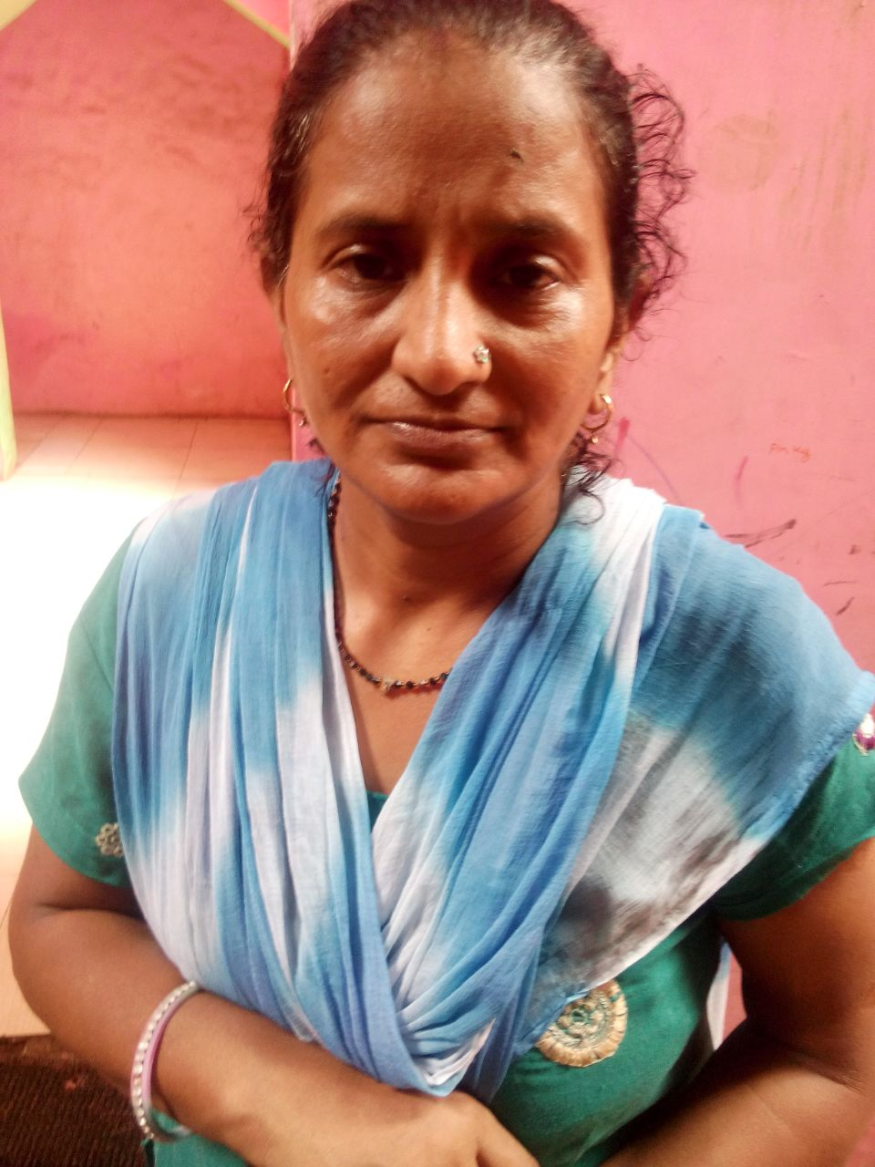 This is Rani. She is 41 years old. She tells us that she feels hopeless but wants to feel happier.