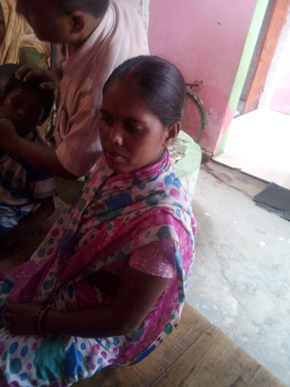 Meet Padma. She is 32 years old. She tells us that she suffers from depression.