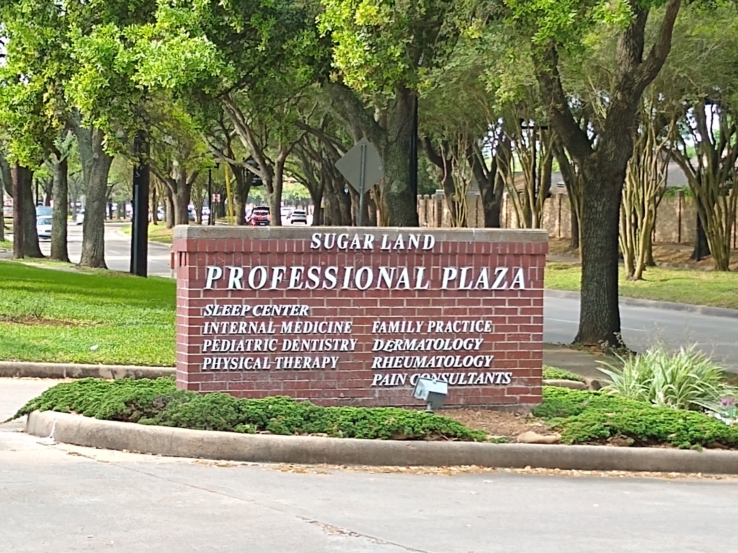 The Practice - Conveniently located off Highway 6 and close to 59. You can find us at the Sugar Land Professional Plaza.