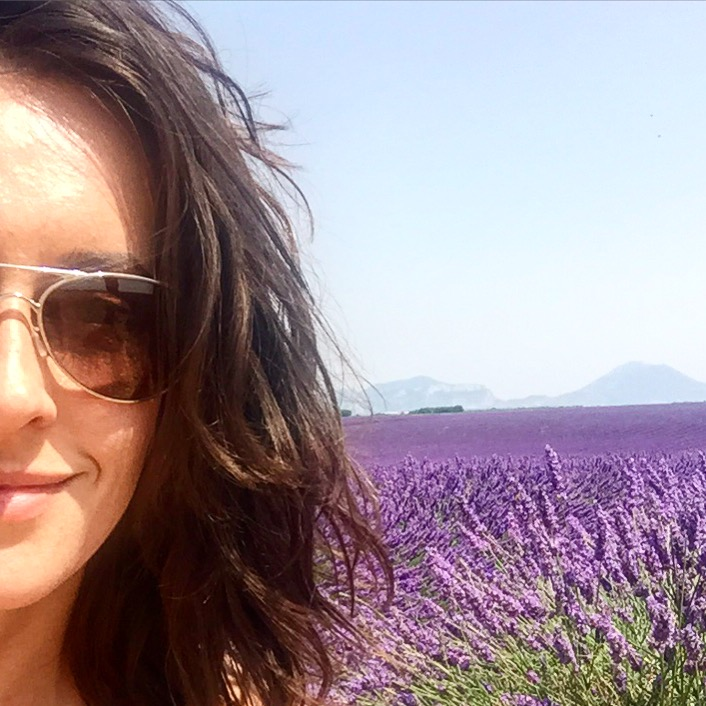 Engagement Day in French Lavender Fields