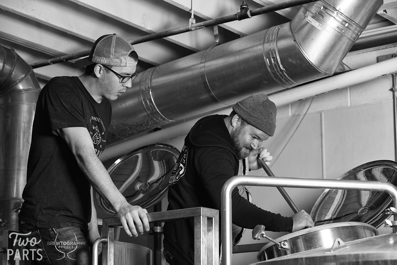 """Sean from Cerebral told us that they decided on doing a Belgian Pale Ale with Brett after drinking a few Orval at Falling Rock. He clarified that this isn't an """"Orval clone"""", just inspired by their use of dry hopping with Brettanomyces."""