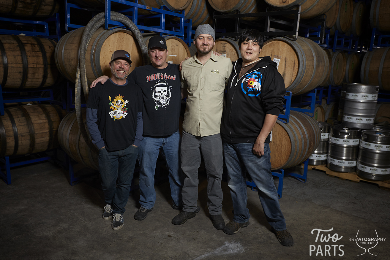 """When asked how they chose to brew together, the brewers claimed that, """"the beer actually chose the two of us."""""""