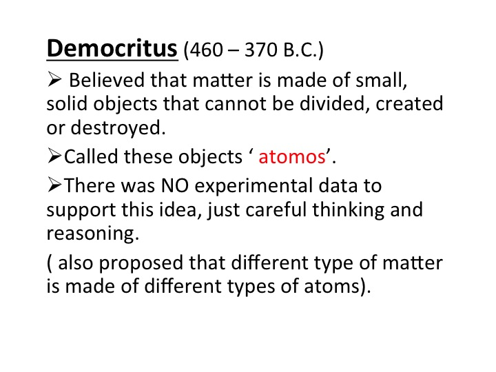 (All slides courtesy of Berman Hebrew Academy, 8th Grade Science Class)