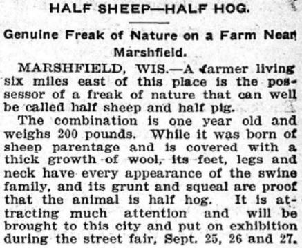 The Minneapolis Journal , September 24, 1902, from  here .