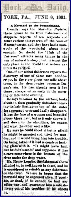 Newspaper report Mermaids1881.jpg