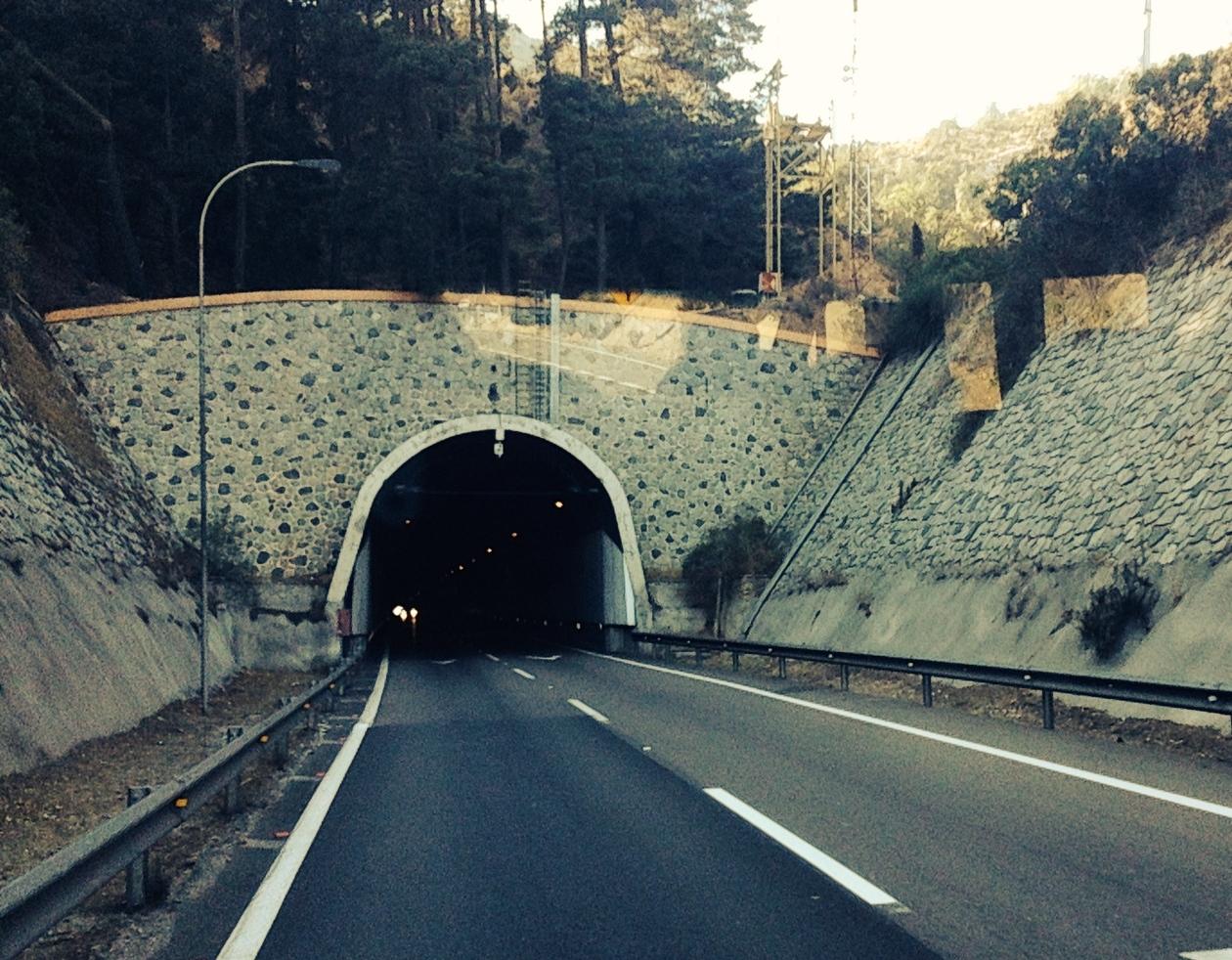 Chilean tunnel.