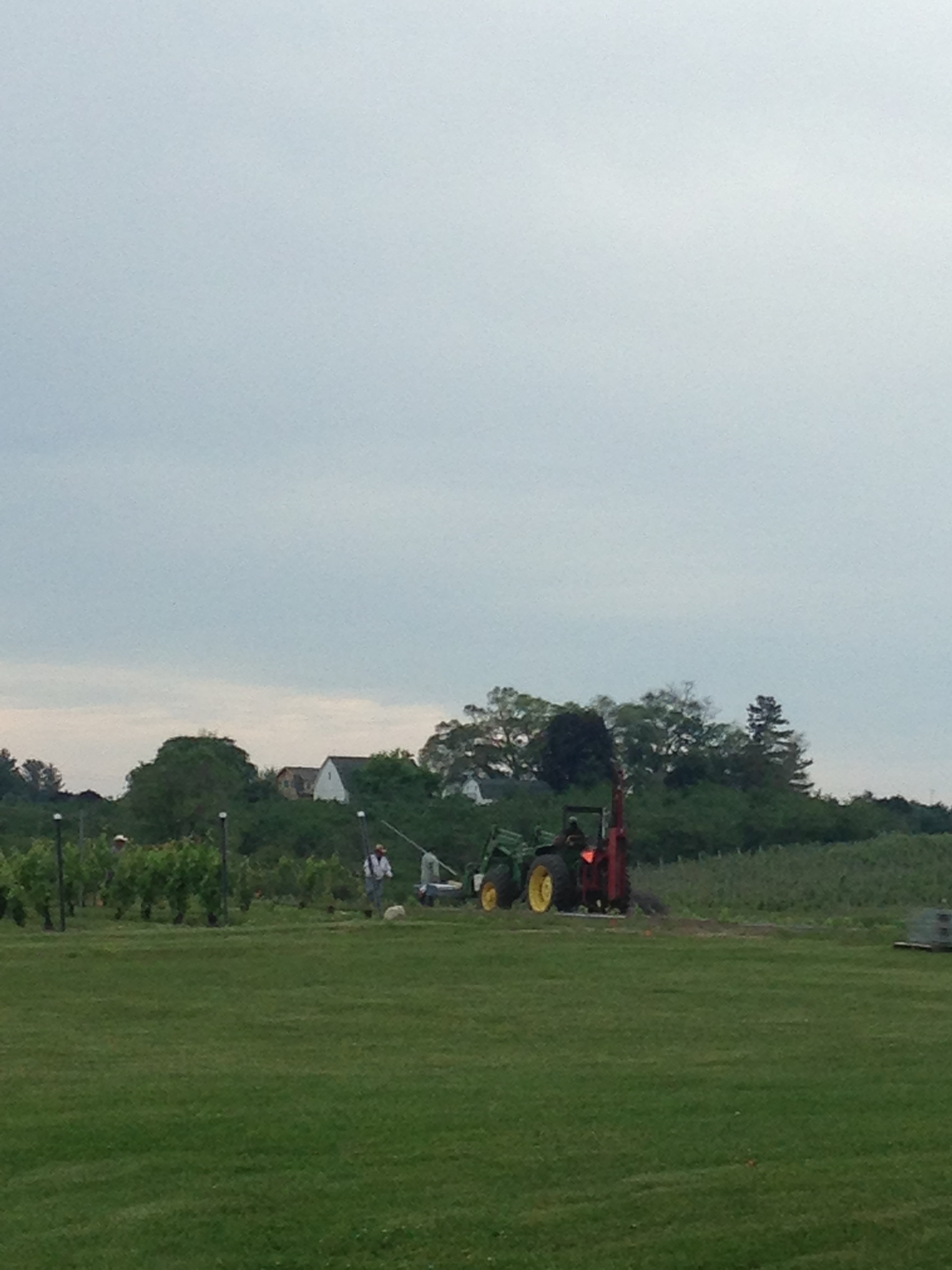 Remember: wine making is farming!